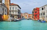 Piękna wodna ulica - Wenecja, Włochy - 50777972