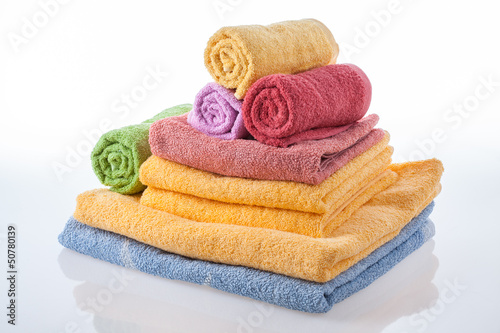 Fotografia  Bath towels