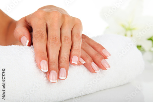Printed kitchen splashbacks Manicure Manicure