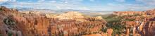 Paronamic View Of Bryce Canyon National Park In Utah