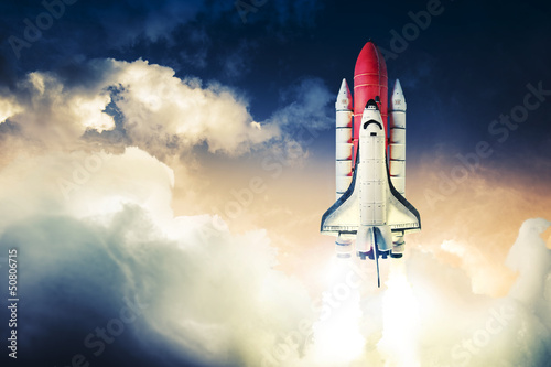 Foto op Aluminium Nasa Space shuttle