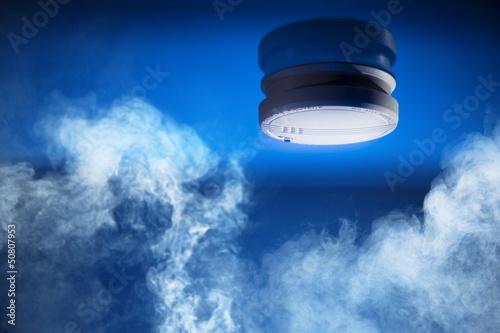 Valokuvatapetti Smoke detector