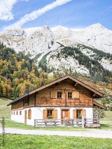 Keuken foto achterwand Alpen karwendel