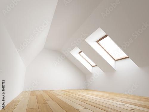 Fotografie, Obraz Empty new room