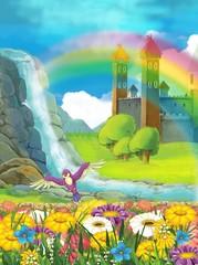 Obraz na płótnie Canvas The fairy - illustration