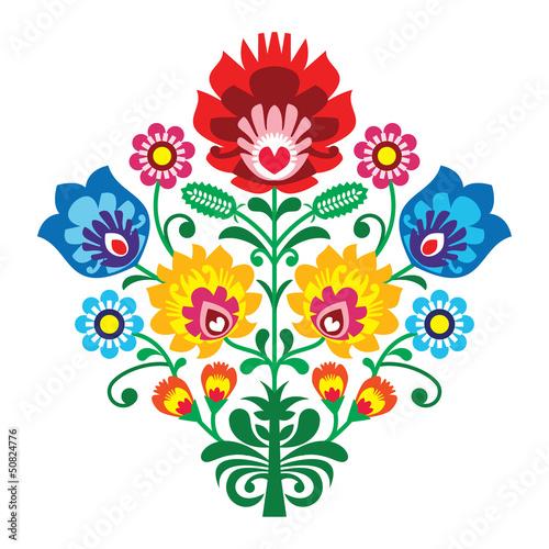 kwiatowy-wzor-folkowy