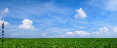 Photo Panoramabild Landschaft