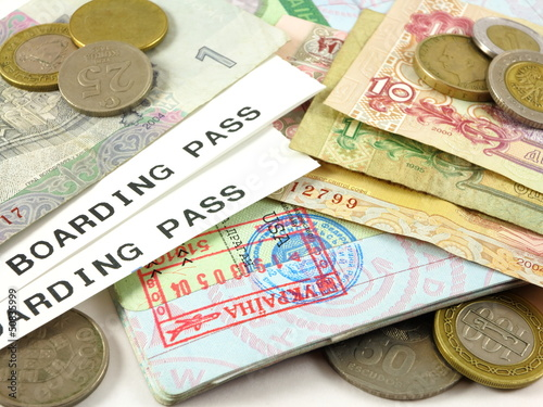Visas Pports Pport Stamps Foreign Currency And Coins