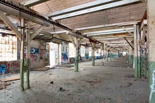 Papiers peints Les vieux bâtiments abandonnés grunge all interrior