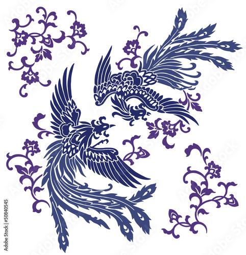 東洋の不死鳥 鳳凰 Fotomurales