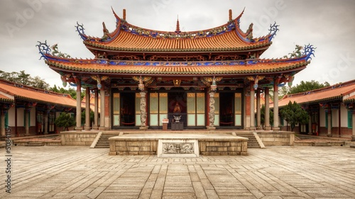 Wall Murals Place of worship Taipei Confucius Temple