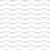 Vector white background of abstract waves