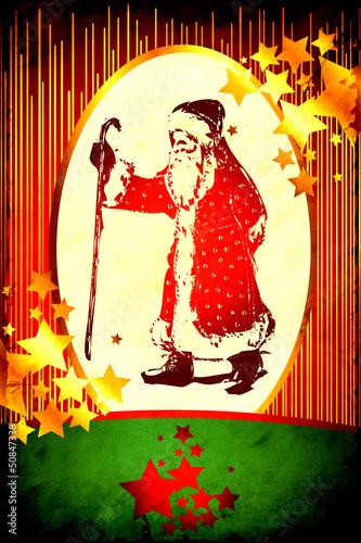 Foto op Plexiglas Vintage Poster Retroplakat - Weihnachten