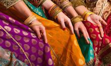 Bollywood Dancers In Sari