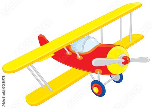 Papiers peints Avion, ballon Toy plane