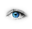 Leinwandbild Motiv Auge