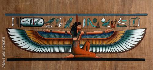 Tuinposter Egypte Papiro egizio