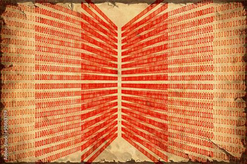 Papiers peints Affiche vintage Retroplakat - Digitale Vergangenheit