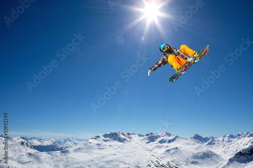 Fotobehang Wintersporten volare