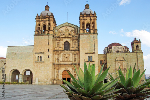 Fotobehang Mexico église Santo Domingo