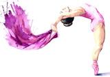 dziewczyna tancerza baletu (seria R) - 50905719