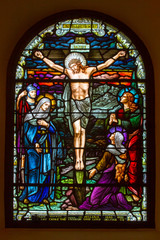 Obraz na Plexi Crucifixion