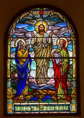 Obraz na SzkleJesus comes from heaven