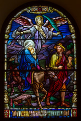 Panel Szklany Do kościoła Birth of Jesus