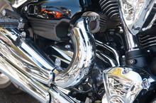 Bike Engine As Background