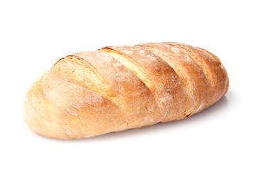 kruh s jednim kruhom, izoliran na bijeloj pozadini