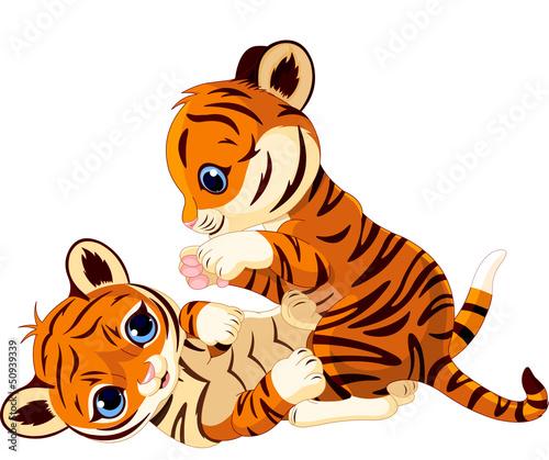 sliczne-figlarne-mlode-tygrysa