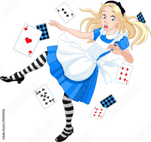 Photo Stands Magic world Falling Alice