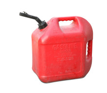 Gasoline Tank Isolated On Whit...
