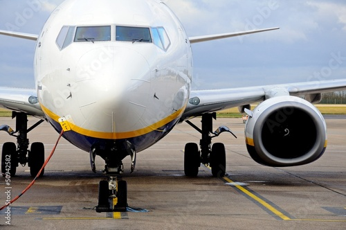 Fotografia  Boeing 737-800 Aircraft parked © Arena Photo UK