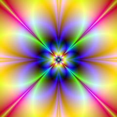 FototapetaPsychedelic Flower