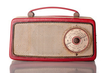 Sixties Red Portable Transisto...