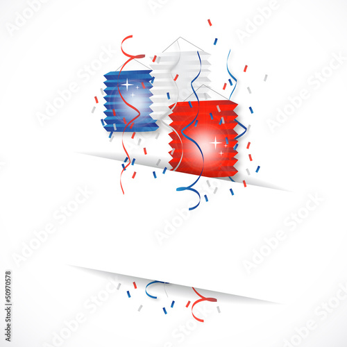 Valokuva  Fête nationale - lampions