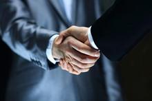 Handshake - Hand Holding On Bl...