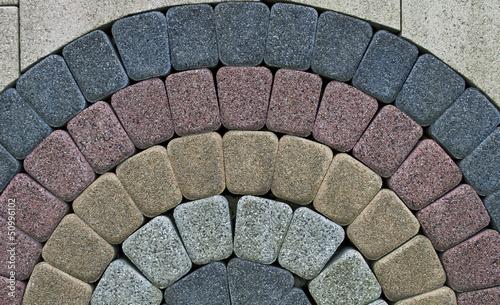 Cuadros en Lienzo pattern on the pavement