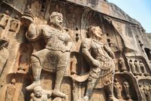 Longmen Grottoes Buddha Statue
