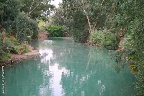 Fotografie, Obraz  The Jordan River. Israel