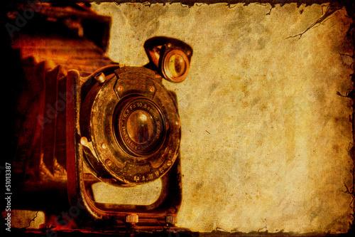 Papiers peints Affiche vintage Retroplakat - Kamera