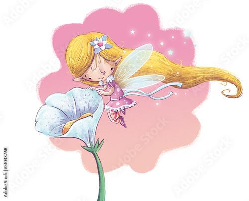 magiczna-dziewczyna-z-dlugimi-zlotymi-wlosami-lecaca-do-kwiatka