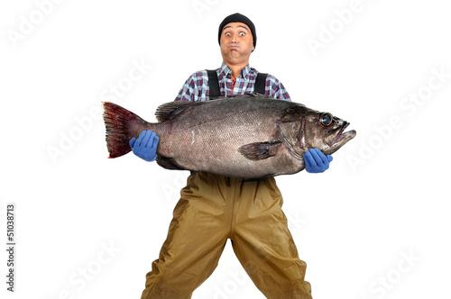 Printed kitchen splashbacks Fishing Fisherman's catch