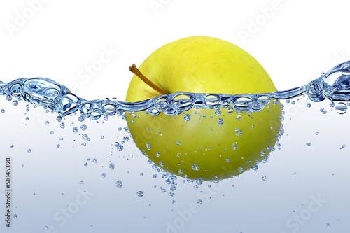 Spoed Foto op Canvas Opspattend water Wasser 45