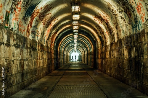 Papiers peints Tunnel Urban underground tunnel