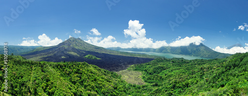 Canvas Prints Indonesia Batur volcano