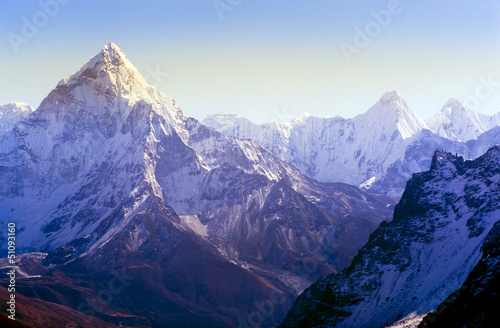 Canvas Print Himalaya Mountains
