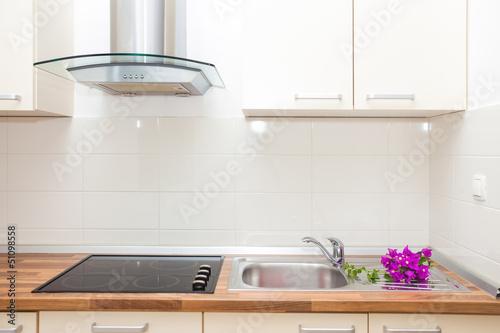 Modern kitchen Fototapet