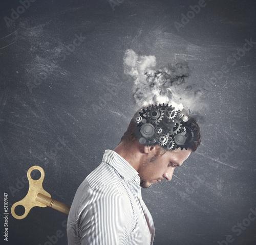 Slika na platnu Stress concept